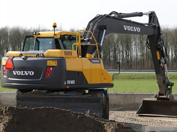 VOLVO EW160D WHEELED EXCAVATOR SERVICE REPAIR MANUAL - DOWNLOAD