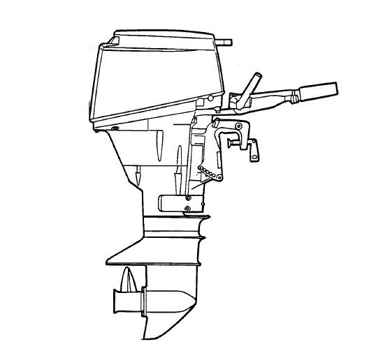 Original Factory Yamaha E40G E40J 2-stroke Outboard Service Repair Manual Download