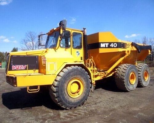 Doosan Moxy MT40 Articulated Dump Truck Service Repair Manual