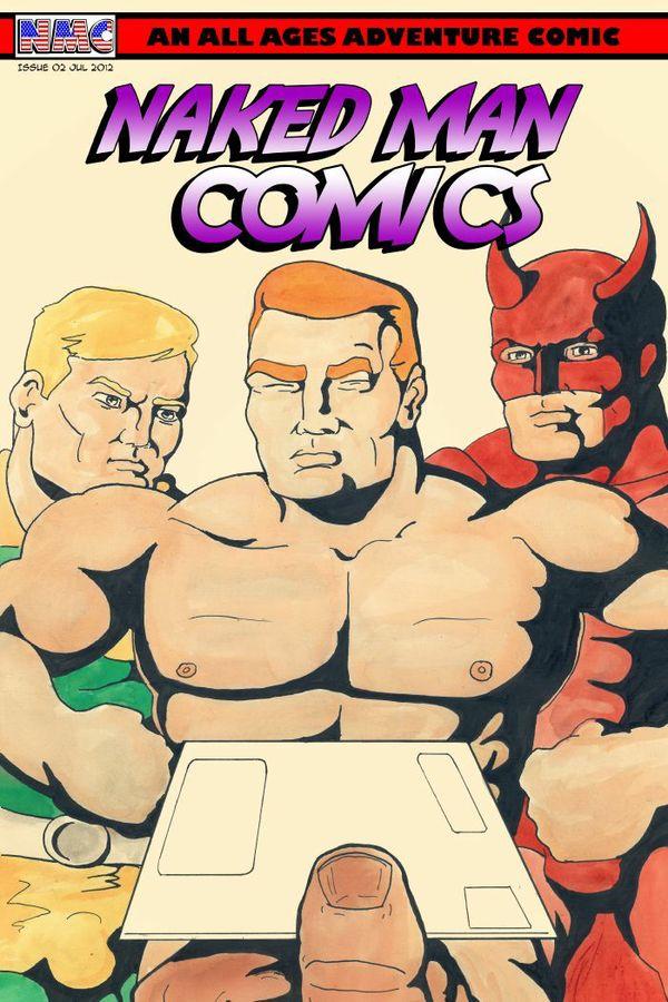 Naked Man Comics #2