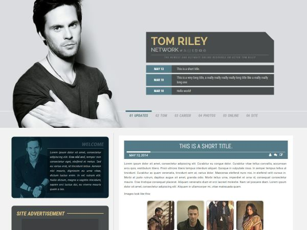 Premade 07: Vinci (Wordpress/Coppermine)
