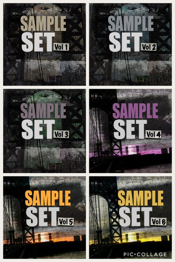 THE MPC SAMPLE SETS v1-6 BUNDLE