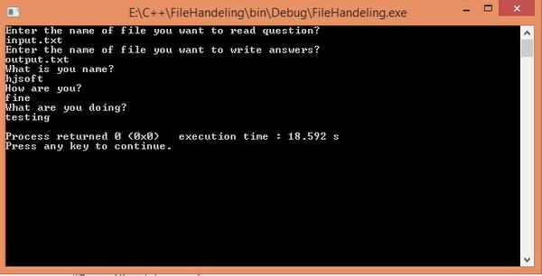 CS 222 Homework Assignment 6 ASCII File I/O