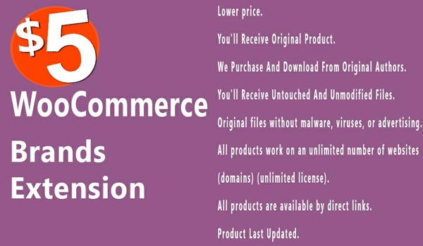 WooCommerce Brands 1.6.0 Extension