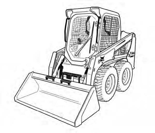 Bobcat S450 Skid-Steer Loader Service Repair Manual Download(S/N B1ED11001 & Above)