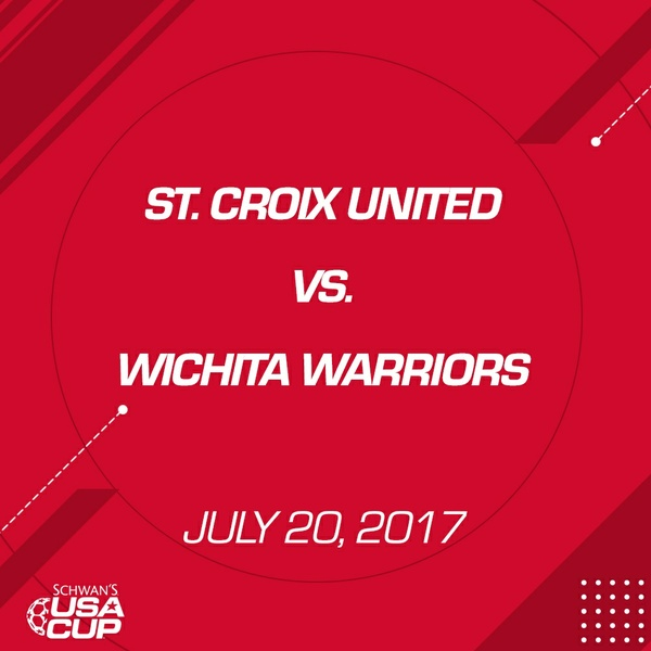 Boys U16 Silver - July 20, 2017 - St. Croix United vs Wichita Warriors