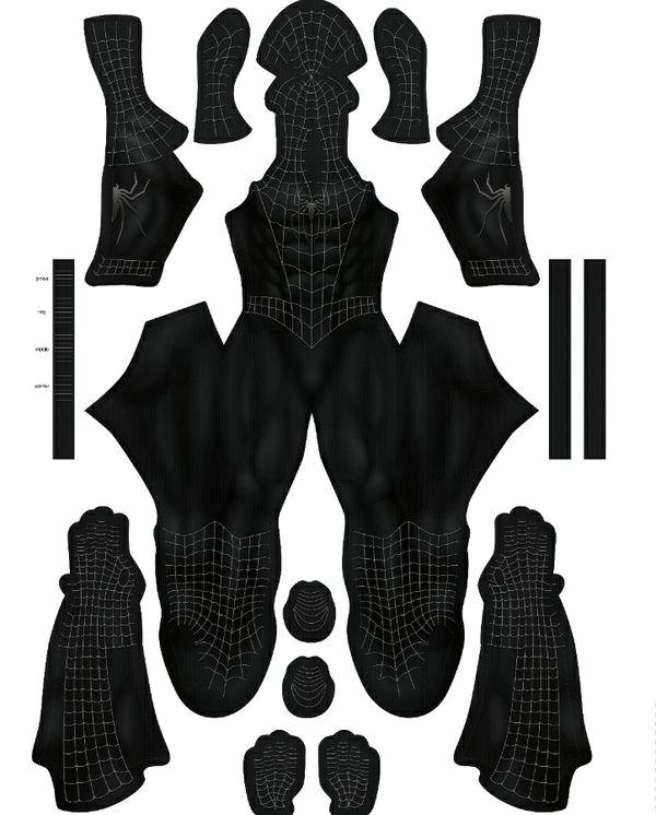 RAIMI Black suit pattern