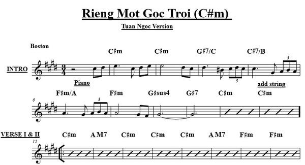 Rieng Mot Goc Troi - Tuan Ngoc