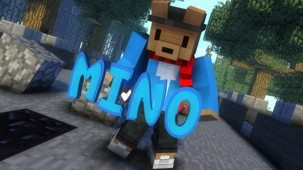 Minecraft intro [Mine-imator]