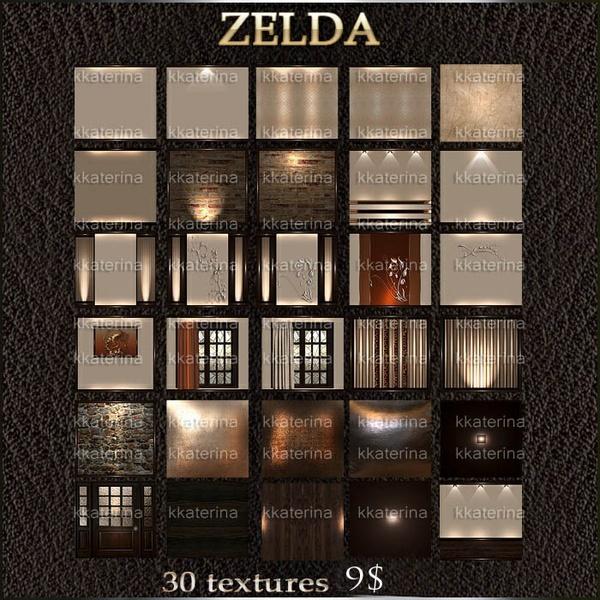 ZELDA 30 TEXTURES