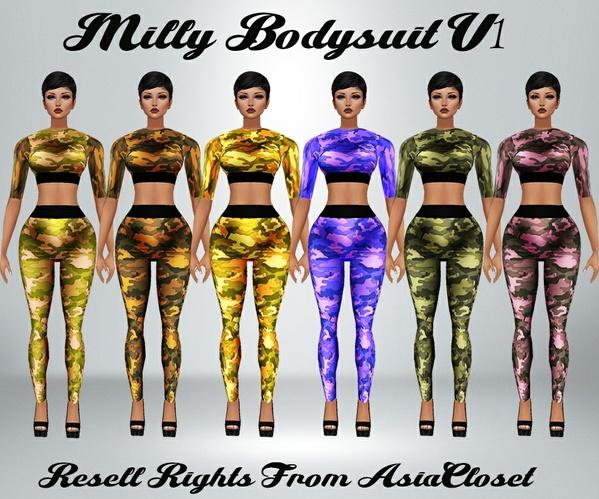 Milly Bodysuit V2 Catty Only!!!
