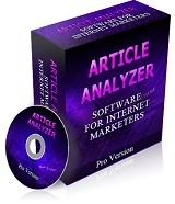 Article Analyzer - Software