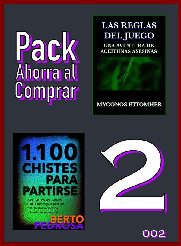Pack Ahorra al Comprar 2 - 002: Las reglas del juego & 1100 Chistes para partirse
