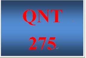 QNT 275 Week 2 participation The Z-score
