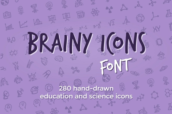 Brainy Icons Font