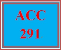 ACC 291 Week 2 Charter: Individual Assignment