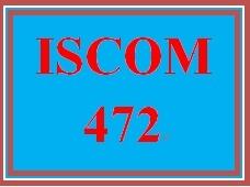 ISCOM 472 Week 2 Benchmarking to Toyota