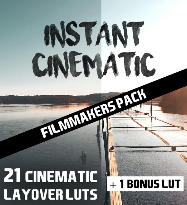 INSTANT CINEMATIC FILMMAKERS PACK // 21 LAYOVER LUTS