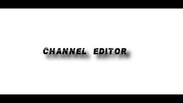 CHANNEL EDITOR
