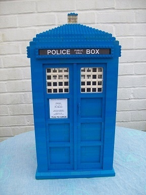 Instructions for Large Scale Lego Dr Who Tardis