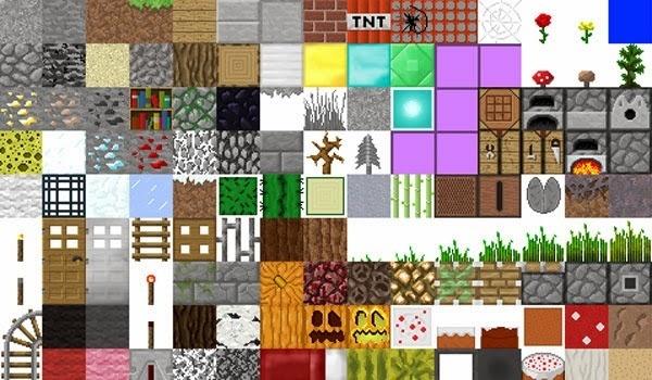 текстуры для майнкрафт 1.7.2 на 3d еда #2