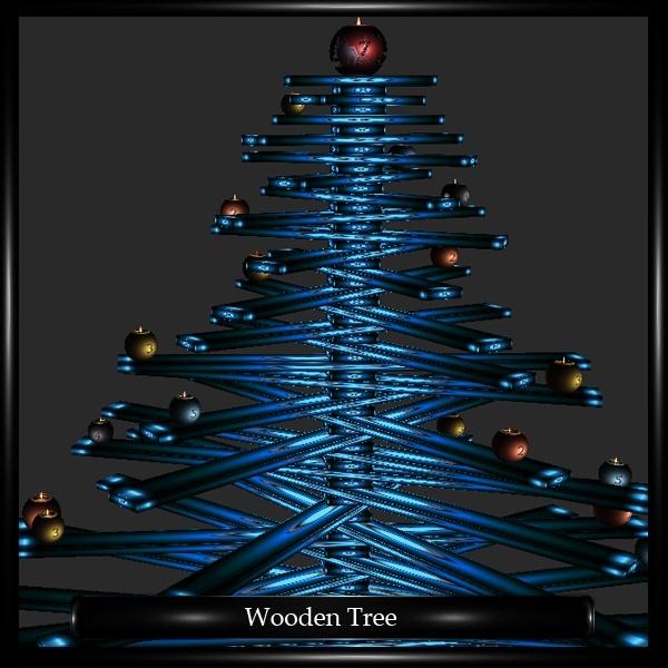 Christmas Wooden Tree