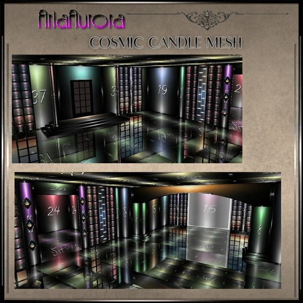 Cosmic Candle Room Mesh Chatty Only!