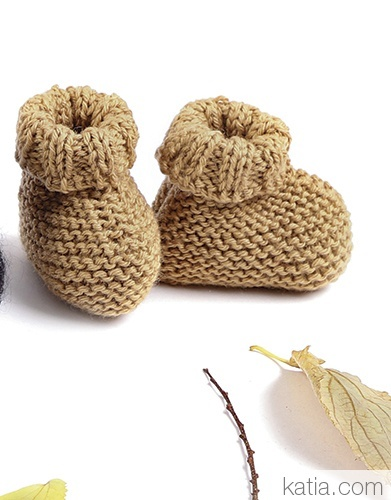 Easy Merino Booties