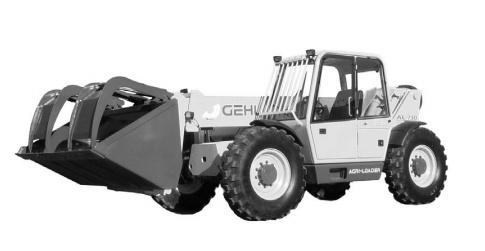 GEHL AL-730 AGRI-LOADER Telescopic Loader Parts Manual