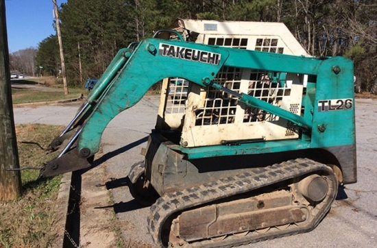 Takeuchi TL26 - TL126 Crawler Loaders Service Repair Workshop Manual Download