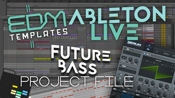 Ableton Live Future Bass Template 06.10