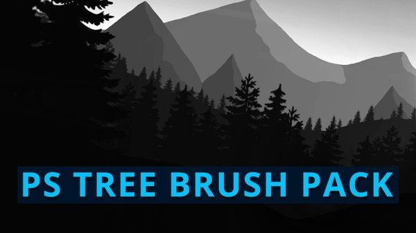 Tree Brushes Pack #1 | Photoshop Resources