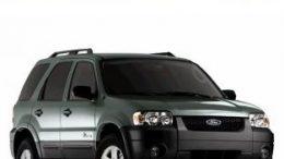 Ford Escape 2001-2006  Repair Manual