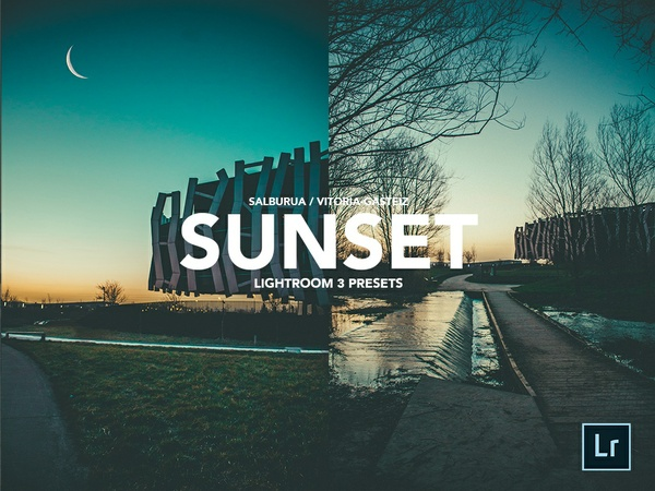 SUNSET PACK LIGHTROOM PRESET