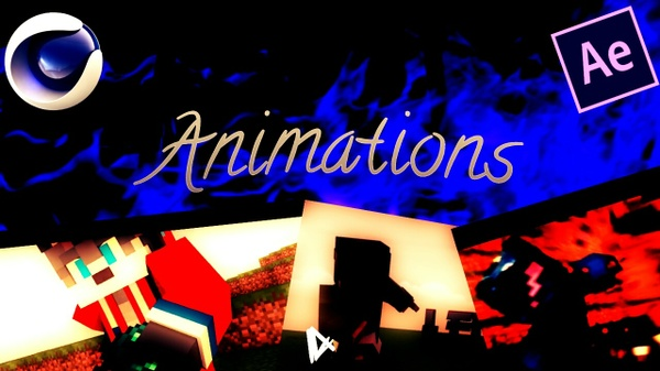 Minecraft Animated Intros / Orders ON = 1/3 4$ 720p30fps / 7$ 1080p60fps
