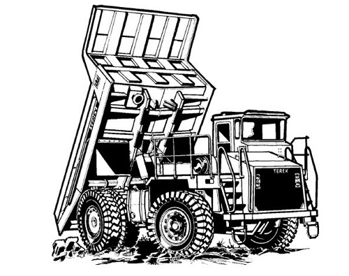 Terex TR45 Off-Highway Trucks Service Repair Manual