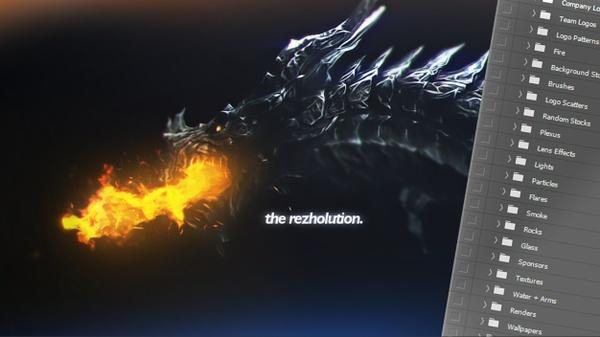 #TheRezholution GFX Pack by Rezhy