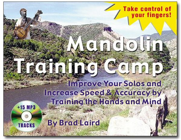 Mandolin Training Camp eBook + 15 MP3 Tracks