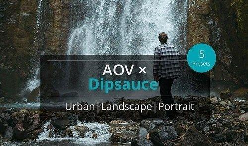 AOV x Dipsauce Lightroom Presets