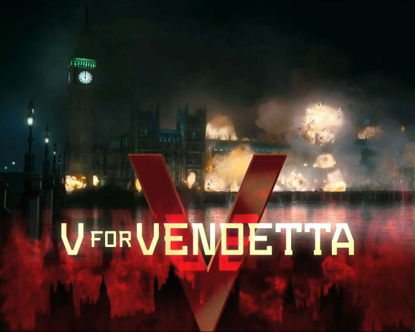 V for Vendetta - by Alan Moore
