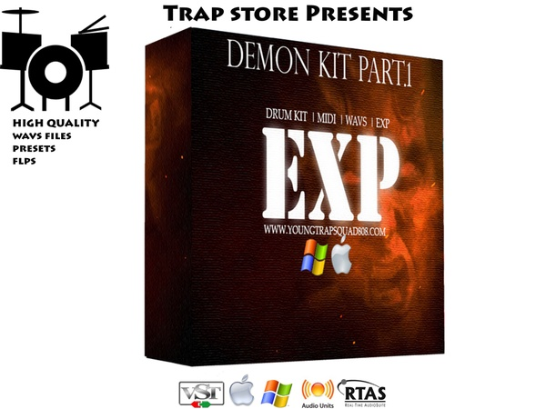 Trap Store Presents -  Demon Kit