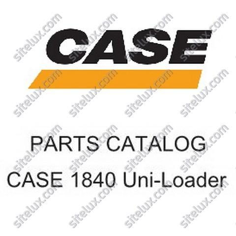 Case 1840 Uni-Loader Skid Steer Loader Parts Catalog