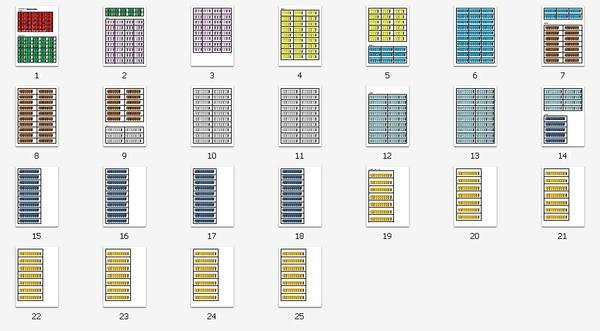Perle colorate Montessori download