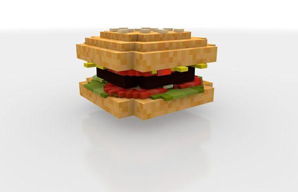 Minecraft Burger