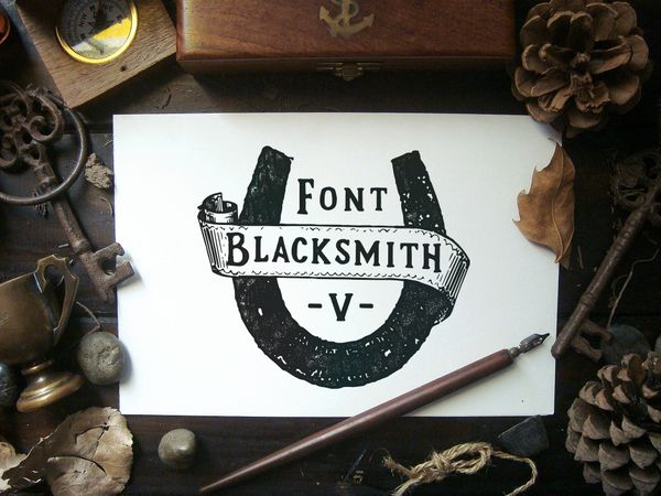 Blacksmith Font