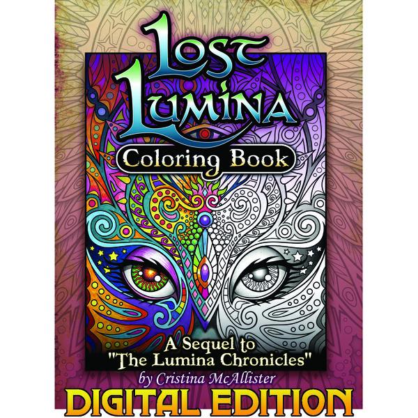 Lost Lumina Coloring Book, Digital Edition .pdf Download