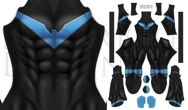 Nightwing Rebirth no honeycomb