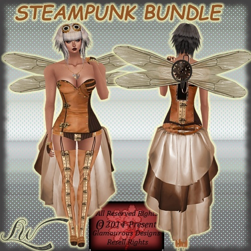 Steampunk Bundle With RESELL RIGHTS