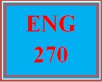 ENG 270 Week 1 Literary Elements