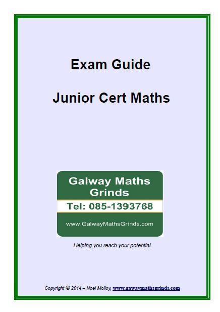 Exam Guide - Junior Cert Maths